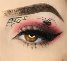 spiderwebbed eyes