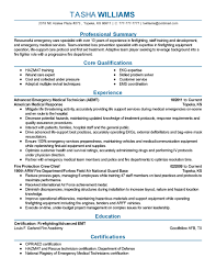 Emergency Medical Technician Resume Template Emt Resume Template Awesome Emergency Medical Technician Resume 10
