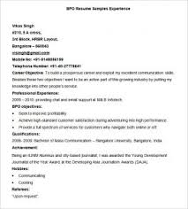 Awesome Collection Of Latest Resume Model For Experienced Marvelous ...