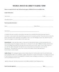 Basic Liability Waiver Form Stunning Liability Waiver Form Template Soloapkco
