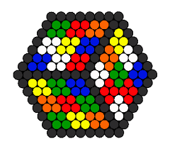 3d rubiks cube illusion perler bead pattern bead sprite hama 3d rubiks cube illusion perler bead pattern bead sprite