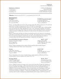 Federal Resume Example Essayscope Com