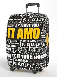 <b>Чехол</b> для чемодана, Размер L 75*80 см, серия <b>Neoprene Happy</b> ...
