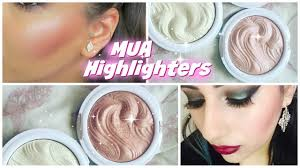 mua undress your skin shimmer highlighter review swatches all shades you