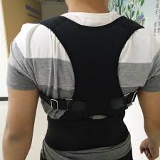 Us 10 24 15 Off 2016 Back Posture Corrector Flexguard Back Support Brace Fully Adjustable For Posture Correction And Relive Back Pain Size S Xxl In