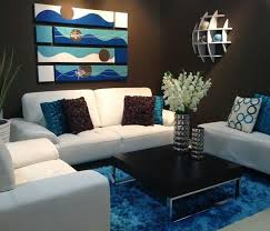 decoration in living room decor blue and brown blue and brown living room ideas penielministries home