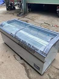 🍅Thanh lý tủ đông mặt kính firger 1000l... - Tủ mát Hoshizaki 4 cánh 1100l  Nhật