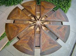 expanding round table western heritage furniture expanding round table pertaining to expanding round table expanding round table