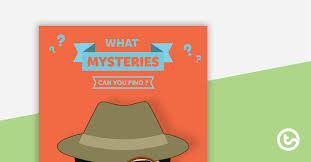 Book Report Poster Template Detective Themed Book Report Template And Poster Teaching