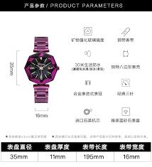 2018 Luxury <b>Brand Lady Crystal</b> Wrist Watch <b>Women</b> Starry sky ...