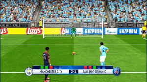 MANCHESTER CITY VS PSG | UEFA Champions League 2018 | Penalty Shootout PES  Gameplay - YouTube
