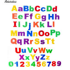 Bộ đồ chơi 26 chữ cái tiếng Anh có nam châm gắn tủ lạnh tiện lợi