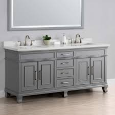 double vanity with top. With Top Home Magnificent 72 Inch Double Vanity 18 Bathroom Vanities Charleston Gray Sink By Mission Hills