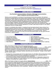 Click Here To Download This Director Of Communications Resume