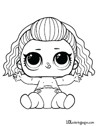 Lol Doll Coloring Pages Pets Dolls Coloring Pages Free Printable