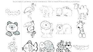 Free Zoo Animal Coloring Pages Free Printable Farm Animal Coloring