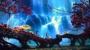 "Paisaje ""digitalizado"" de Avatar... | Paisajes, La música es vida, Avatar  pelicula"