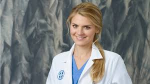 Blonde girl from scrubs