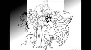 hotel transylvania 2 coloring pages hotel transylvania colouring pages and kids colouring game to print