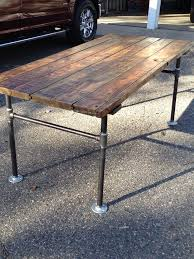 old office desks. office desk made from an old door and pipes stuff we pinterest desks