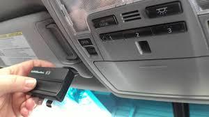 garage door remote connected