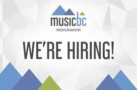 Music Manager Job Description Job Posting Music Bc Program Manager Apply Now