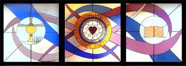 unique religious stained glass window designs