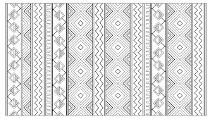 Small Picture Inca aztec mayan pattern Mayans Incas Coloring pages for