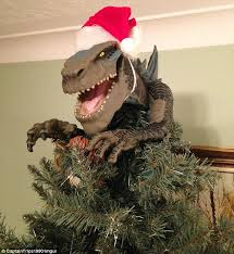 Creative Christmas tree decorations feature King Kong, Godzilla ...