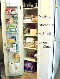 small closet storage ideas best small linen closets ideas on bathroom very small closet storage ideas