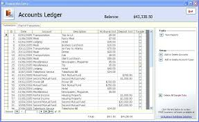 T Ledger Template Accounts Excel Accounting Worksheet Software ...