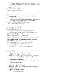 Proper Format Of A Resume Free Professional Resume Examples Industry