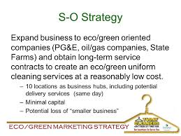 Eco/green Marketing Strategy Today Cleaners M Arketing S Trategy ...