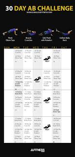 30 Day Ab Challenge 7 Exercises