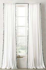 Restoration Hardware Drapes | 54 Inch Length Curtains | Red Velvet Drapes