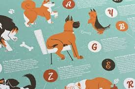 A Z Chart For Dog Lovers Features Fun Facts About 26
