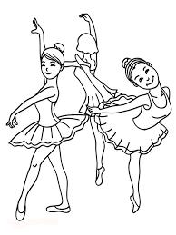 Disegni Da Colorare La Ballerina Mamma E Casalinga