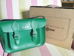 i am obsessed with the colour the green is so rich and goes perfect for any season throughout the year it is my first leather satchel first block green