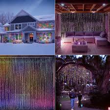 Draping And Fairy Lights For All Occasions Led Concepts 300 Led Curtain String Icicle Fairy Lights With