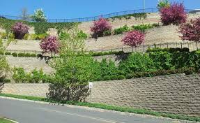 Small Picture Segmental Retaining Walls and Concrete Fence Systems