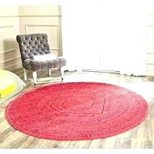 7 ft round rug foot braided 3 4 rugs intended for 6 decor wide area 7 ft round rug