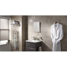 archer battery operated led mirror