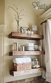 Incredible Thick Floating Shelves Exquisite Design Easy DIY Shelves! Shanty  2 Chic