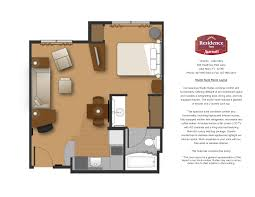 Apartment Studio Floor Plan - Rental apartment one bedroom apartment open floor plans