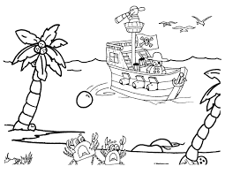 Small Picture Printable Pirate Coloring Pages Miakenasnet