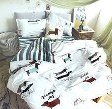character dog bedding set teen childcotton twin full queen single double cartoon home textile dog bed