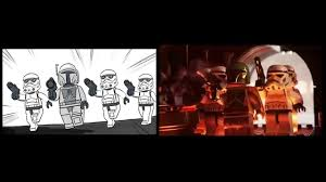 lego star wars freeze frame behind the scenes
