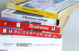 Telephone Listing Singapore May Bin Phone Books Over Privacy Fears