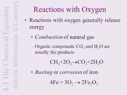 and the information it conveys 4 3 the chemical equation