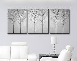 large grey wall canvas